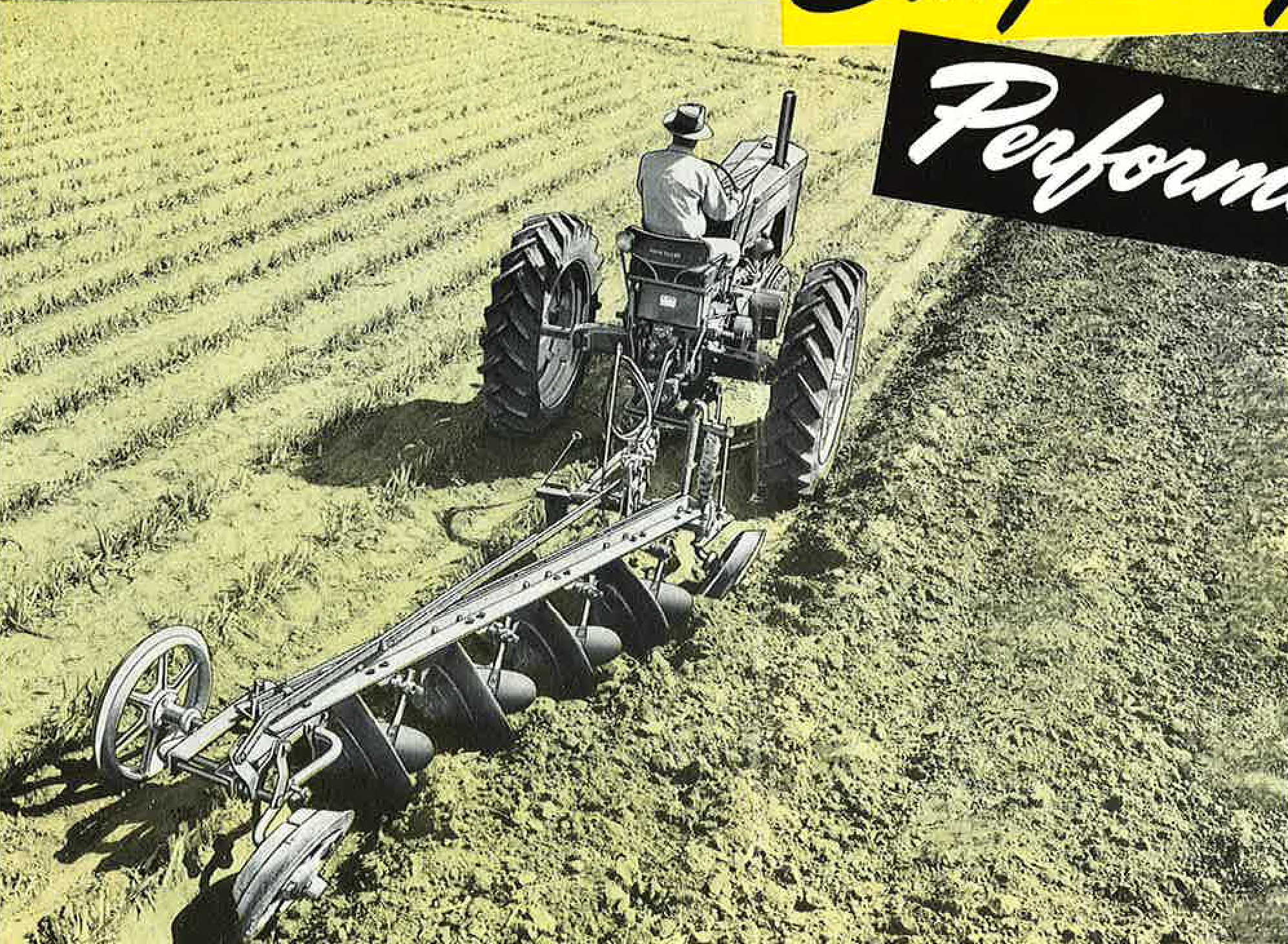 And the jd three bottom pull type plow sorry, that